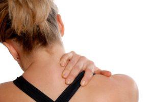 car accident neck pain